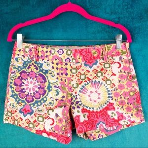 J. CREW FACTORY FLOWER BLOOM SHORTS AR014